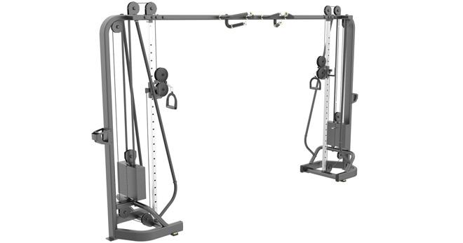 Упражнения на тренажере кроссовер