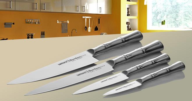 Виды японских кухонных ножей