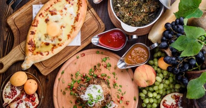 Грузинские блюда – рецепт пхали, чахохбили, чашушули, аджапсандали, оджахури и другие