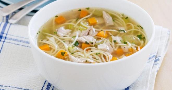 Куриный суп с вермишелью – рецепт с картошкой, яйцом, грибами, кабачком, рисом, брокколи и другие варианты