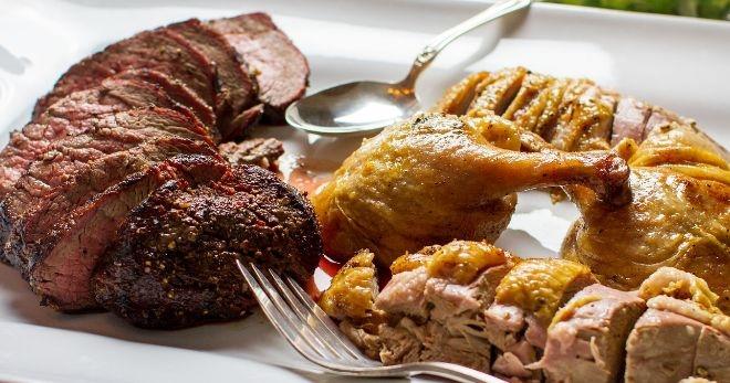 Мясные блюда – вкусно готовим на сковороде, в духовке и на мангале