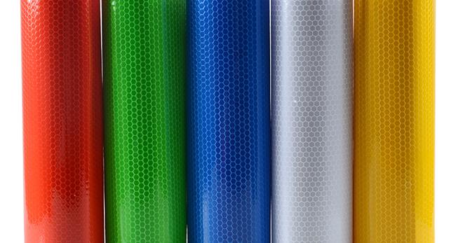 Светоотражающая пленка – какие есть цвета, печать на пленке, как клеить и снять?