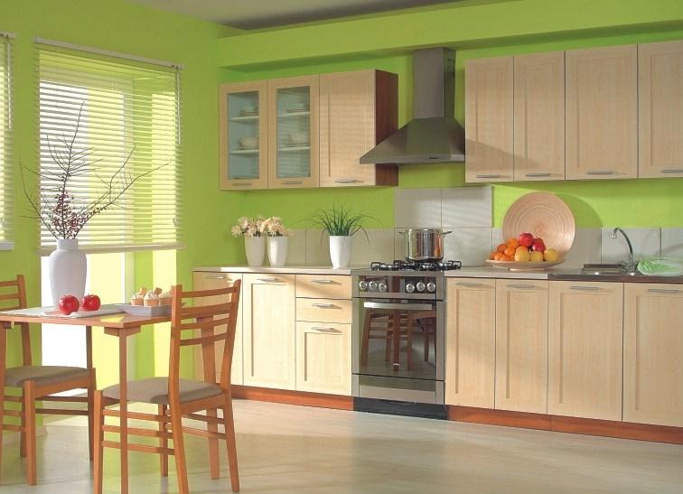 Какой цвет выбрать для стен в кухне