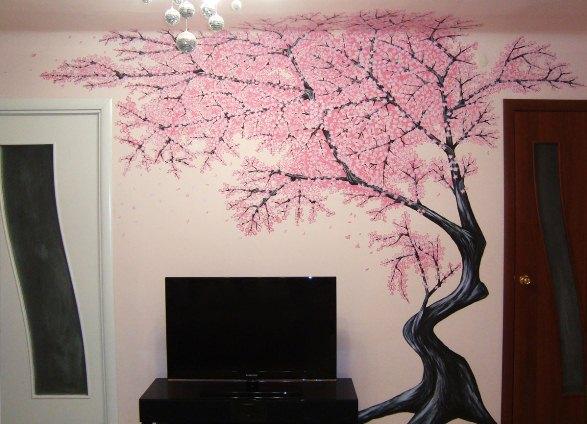Как сделать из дерева рисунок на стену