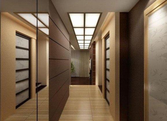 Дизайн коридора в квартире Небольшой Дом в Стиле Хай Тек