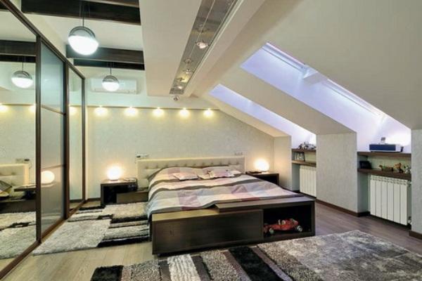 фото комнат мансардных