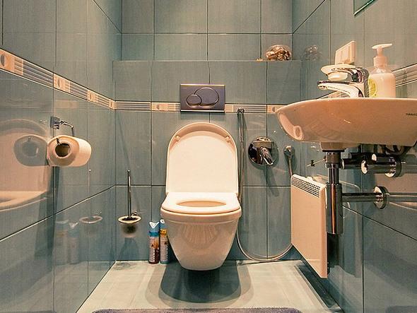 туалет дизайн фото в панельном доме