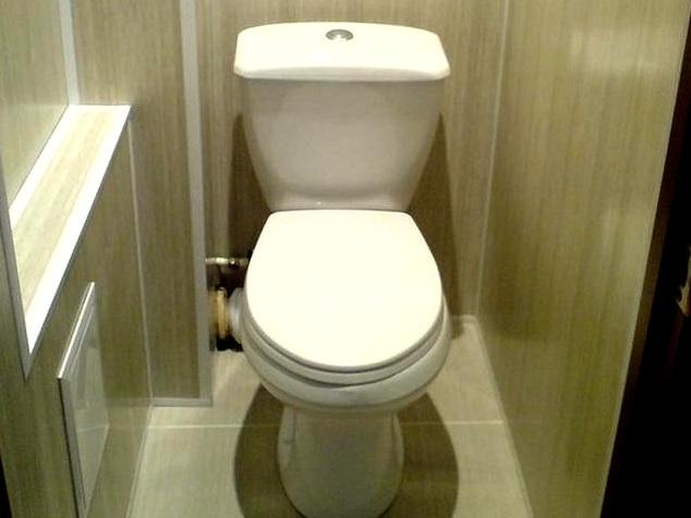 Фото ремонта туалета в панельных домах 7