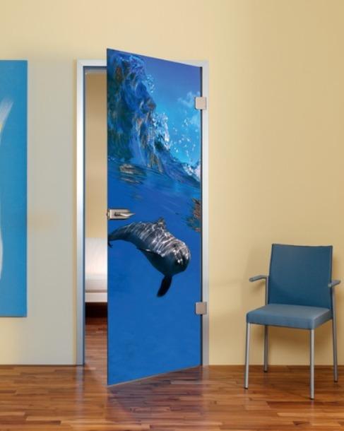 фотопечать на межкомнатных дверях раскладной механизм