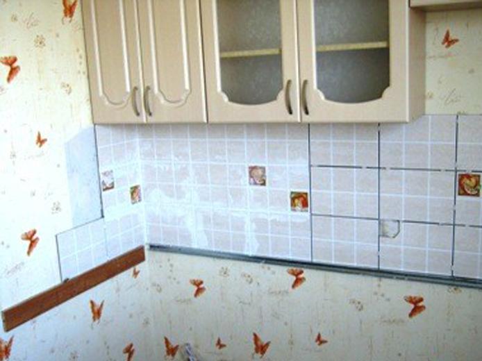 Кладем плитку на фартук кухни правильно - инструкция с фото и 41