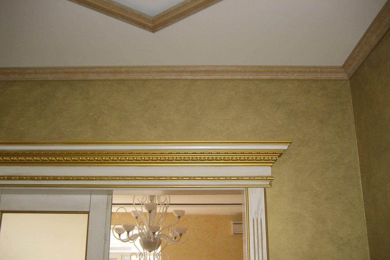 фото применения багетов на потолок фотоформ должно