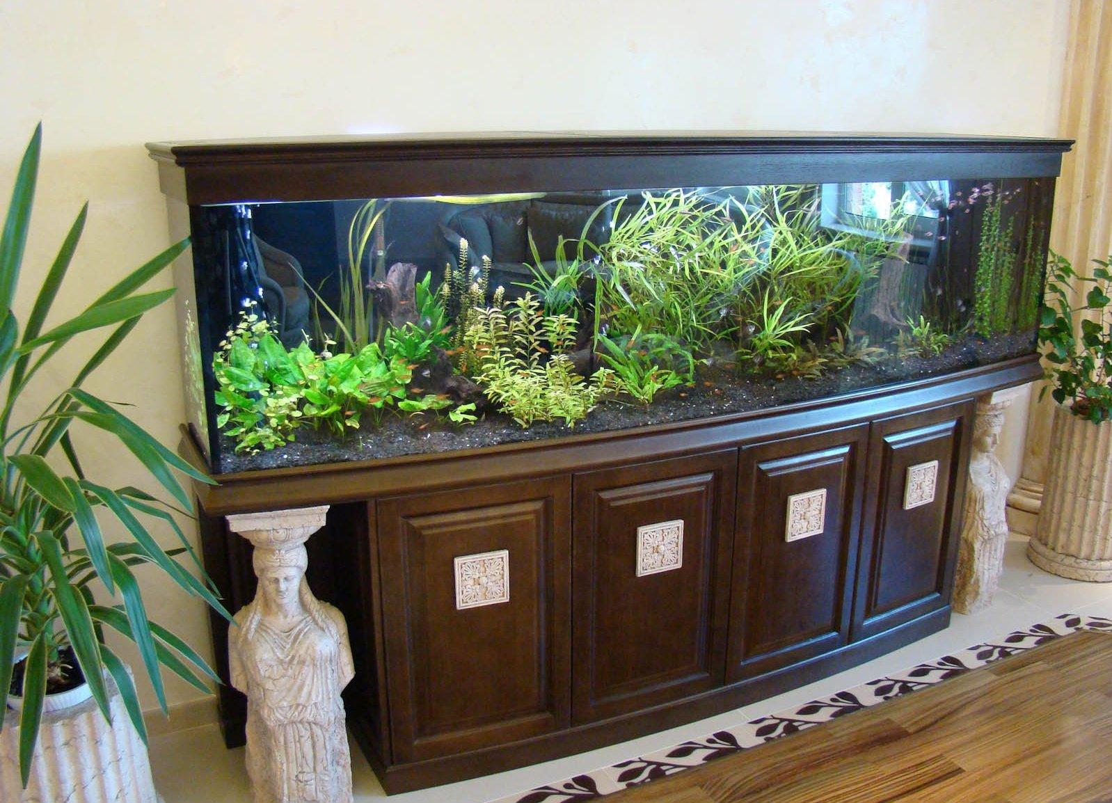 Чем сделать аквариум своими руками