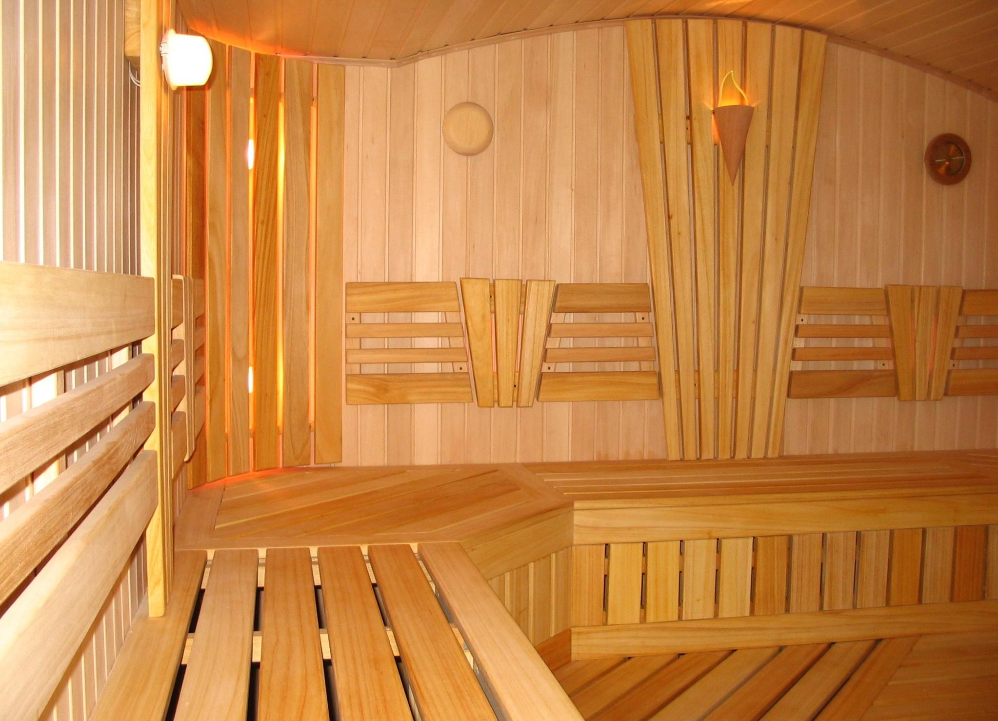 Применение липовой вагонки для обустройства бани