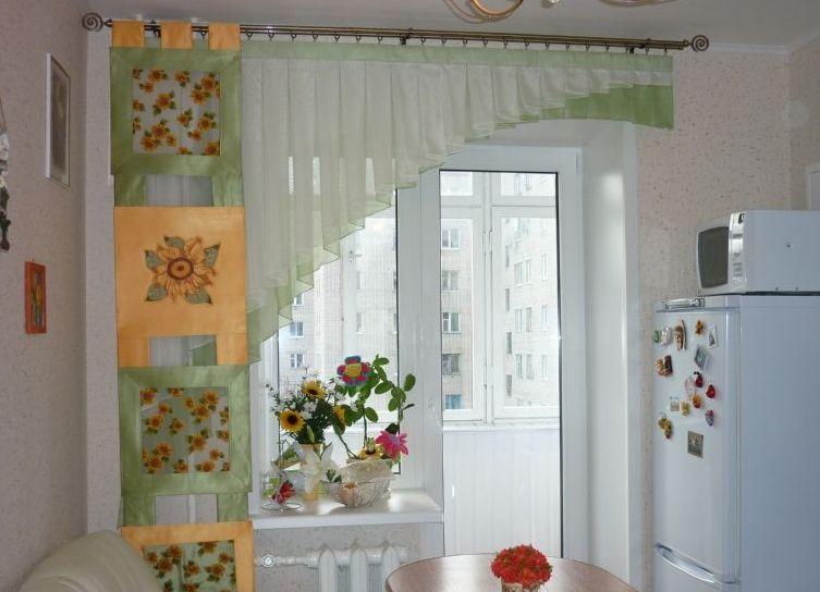 Шторы для маленькой кухни (42 фото видео-инструкция по) 8