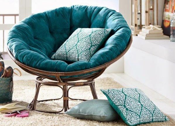 кресла круглые фото