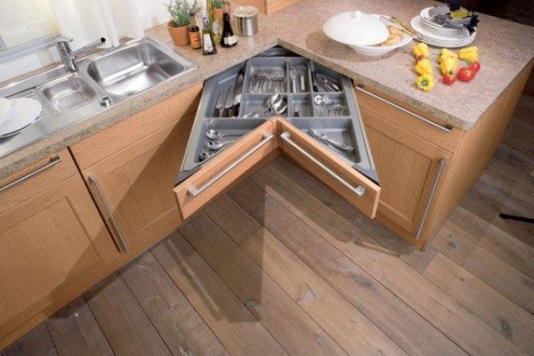 маленькие встроенные кухни фото