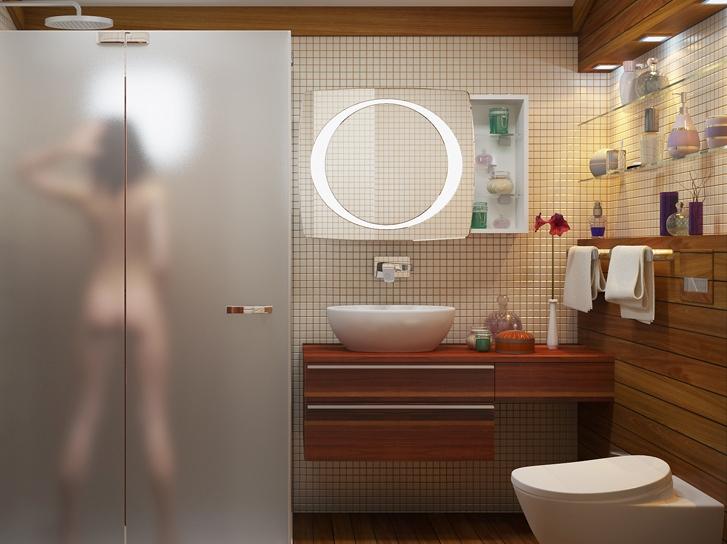 Как оформить туалет в квартире своими руками 91