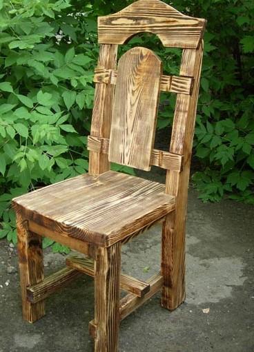 стул из дерева своими руками фото