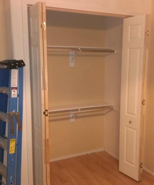 встроенный шкаф своими руками