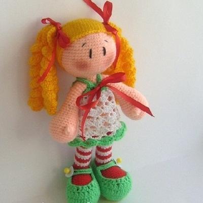 Мастер-классы для вязания амигуруми-куклы 77