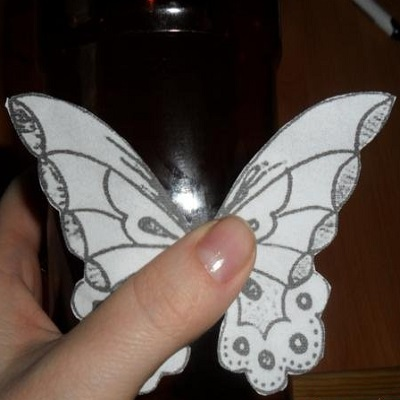Бабочки из пластиковых бутылок своими руками фото 105