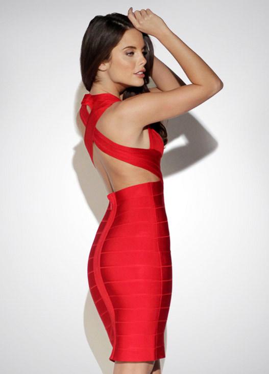 фото бандажные платья