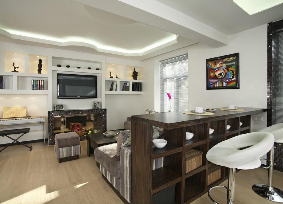 стойки барные фото на кухне