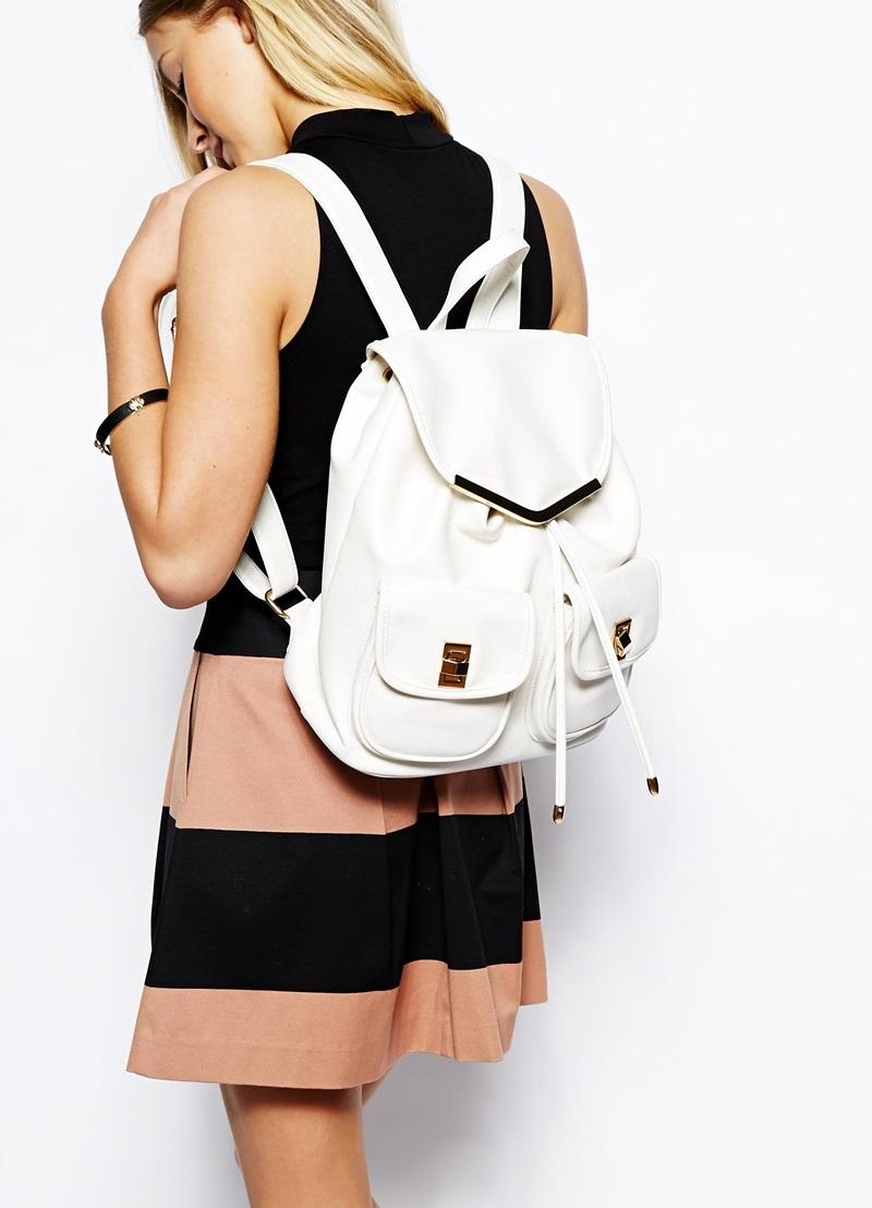 белый рюкзак с чем носить фото сайте
