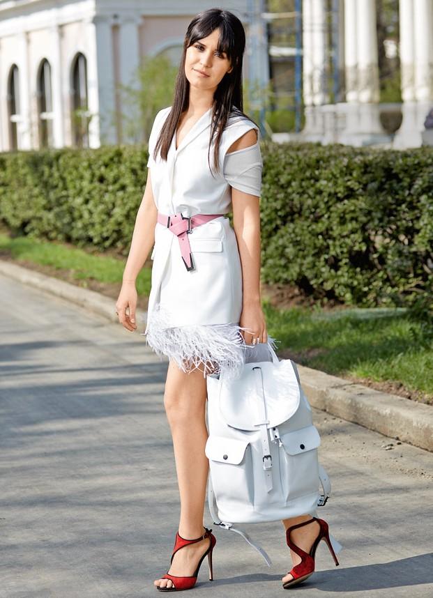 белый рюкзак с чем носить фото помощник для