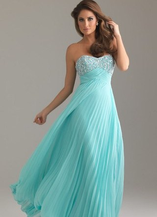 бирюзовое платье фото
