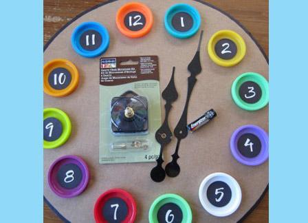 Часы из картона своими руками для детей фото 224