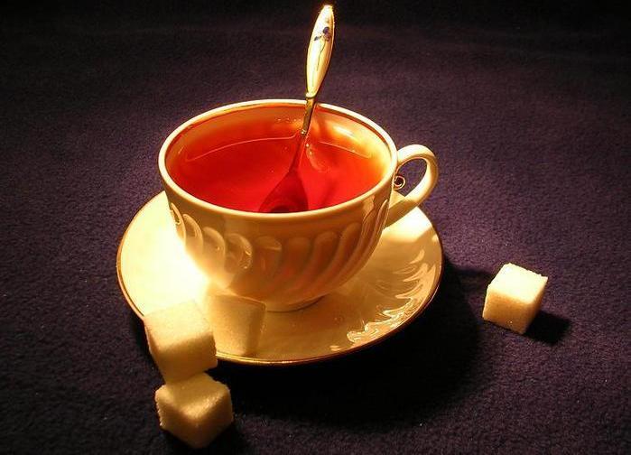 кружка чая калорийность