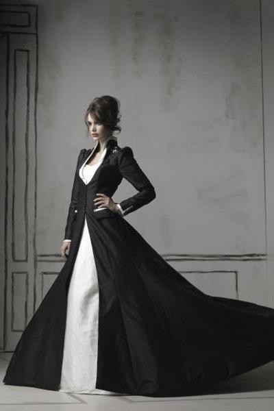 8e1fc1dce72 Черное свадебное платье