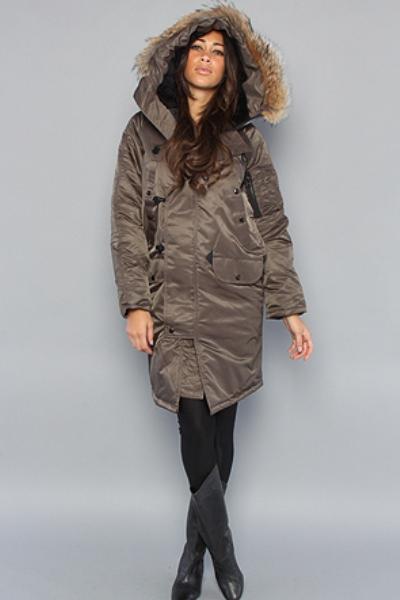 фото куртка аляска женская