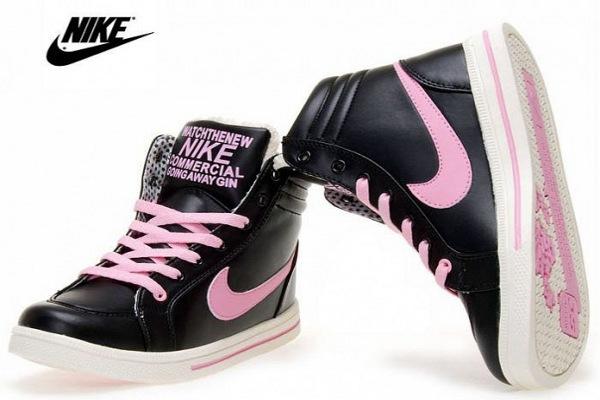 Кожаные кроссовки Nike 12c19dd45e5