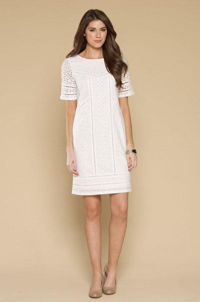 58a6d9fe717 Хлопковое белое платье 4 ...