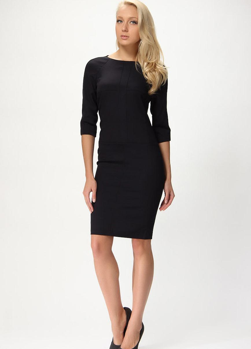 чёрное платье классика фото
