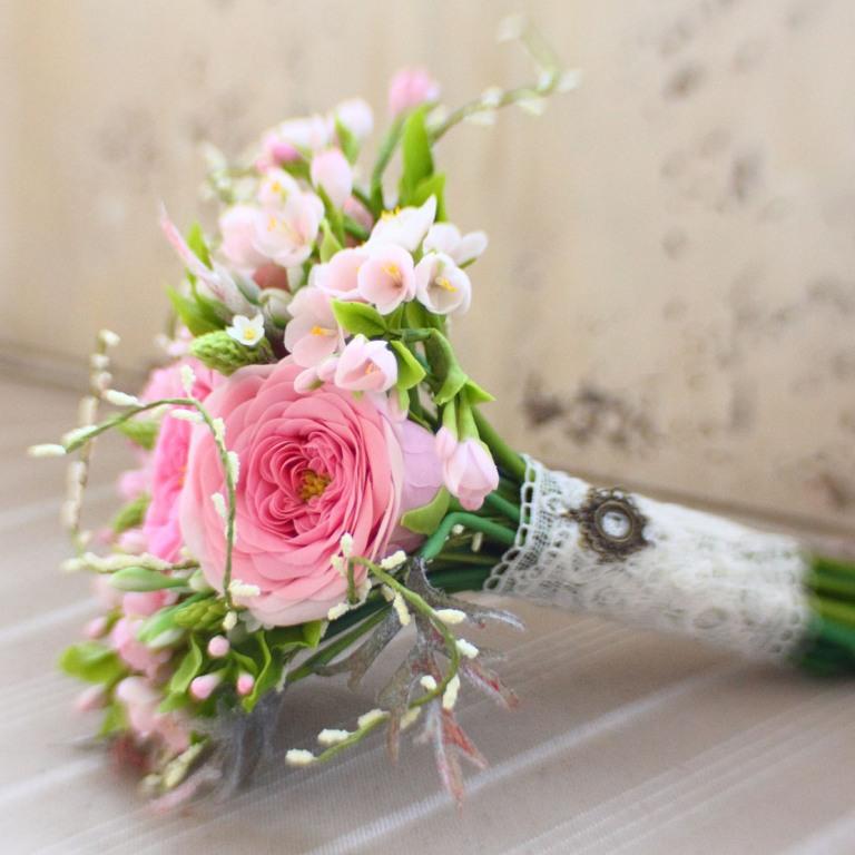 Свадебный букет маленький недорого, цветов стерлитамак