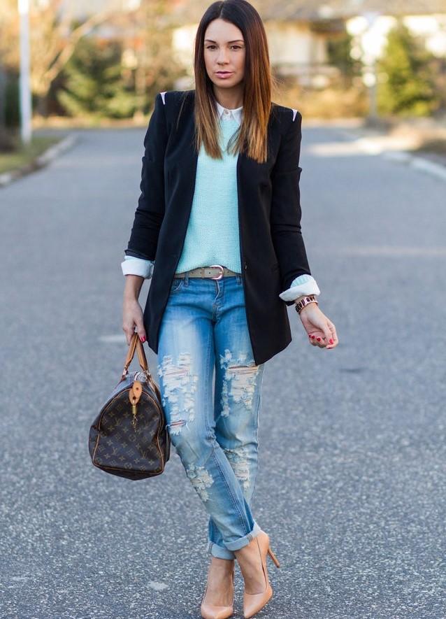 Как сделать подвороты на джинсах девушке если они широкие 26