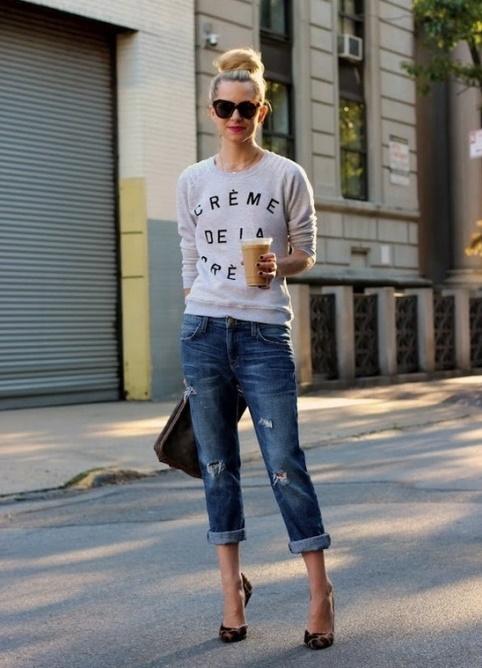 Как сделать подвороты на джинсах девушке если они широкие 228