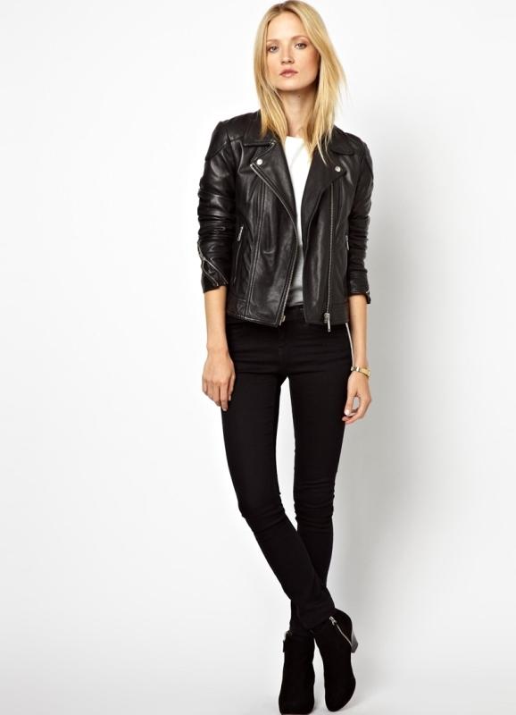 Женские кожаные куртки купить онлайн | jeans & casual.