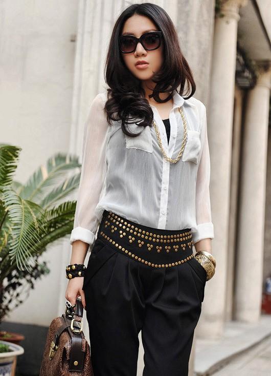 ... Красивые блузки из шифона 3 873175936bb