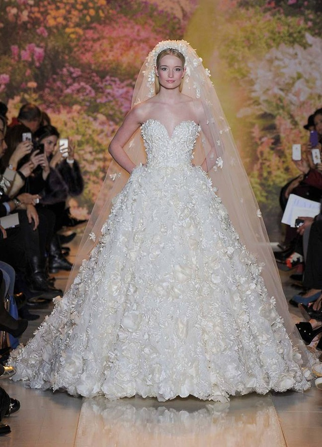 красивые свадебные платья красивые пышные фото