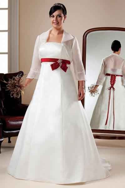 c8665958dd52b25 Пышные свадебные платья для беременных 4 ...