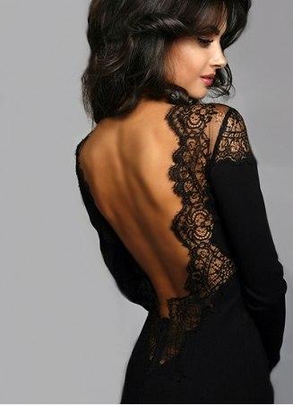 9342d49091a Кружевное платье с открытой спиной 1 ...