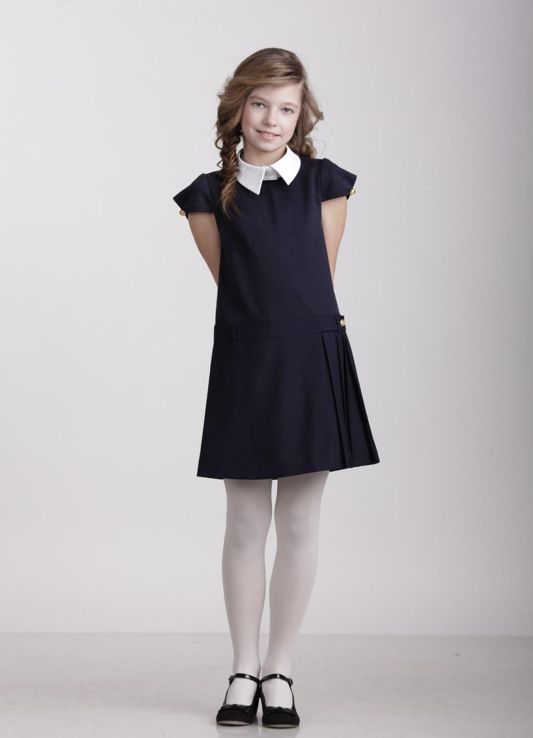 32ef9ee39d1 ... Модели школьных платьев 9