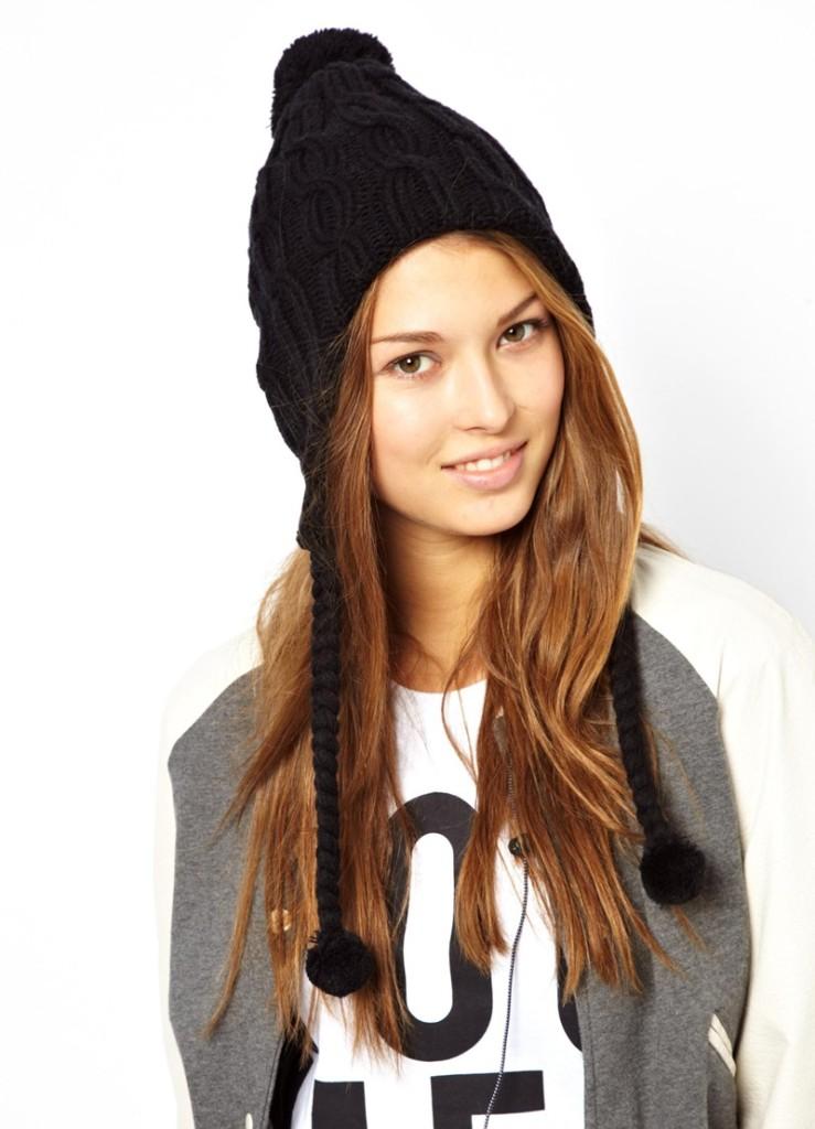 модели вязаных шапок