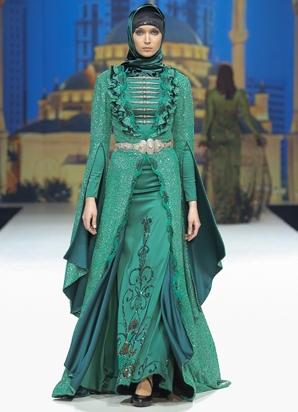 мусульманские платья платки