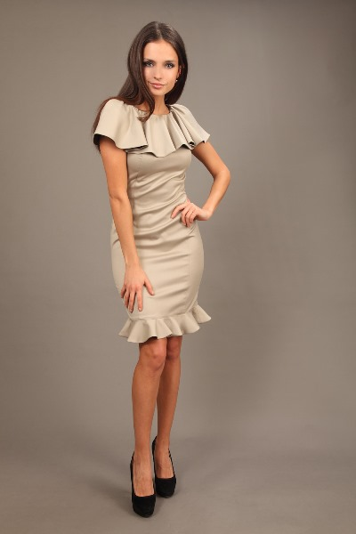 Платье с воланами 1 ... a201cb1c87a