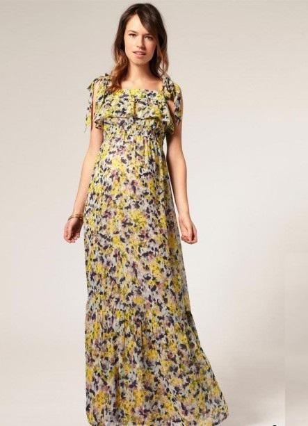 ... Платья в пол для беременных 5 ... ca91ff4668d
